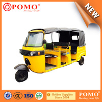 New Design Bajaji Style Low Vibration Tuktuk Three Wheel Passenger Motorcycle