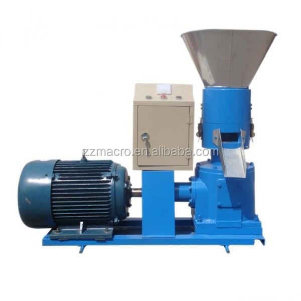 Factory Sale Grain Fodder Pellet Making Machine/farm Poultry Feed Mill Equipment/animal Feed Making Machine