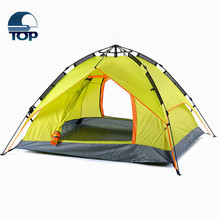Two Bedroom Outdoor Camping Tent Multi-User Waterproof Big Tent for the 2016 big promotion