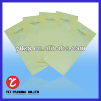 single bags /frozen food packaging/security plastic container frozen food packaging