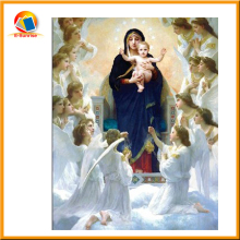 Hot selling wholesale of full color clear religious spiritual 3d painting for deep 3d effect picture in China factory