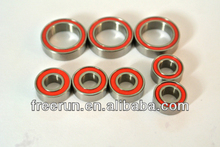 High Performance THUNDER TIGER ZT-2 STADIUM EP ceramic bearing kits with different rubber seal color
