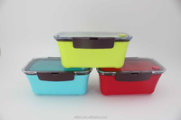 Rectangle sealed pastic lunch box