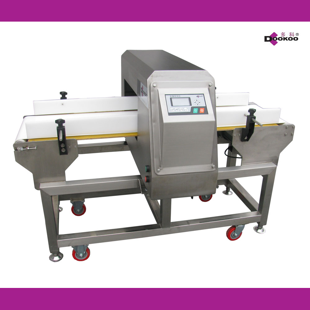 hot sale automatic conveyor metal detector for food packaging