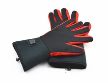3.7V 2600mAh Outdoor Rechargeable Lithium Battery Super-thin Heated Gloves Liner for Lady