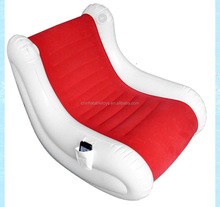 Factory rocking chair sofa ,inflatable s shape sofa , bed