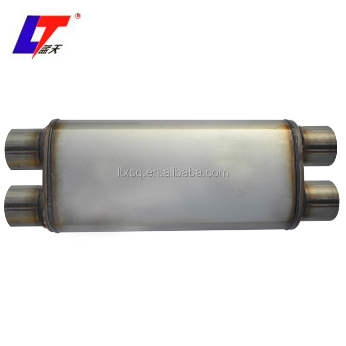 pipe chinese truck muffler exhaust middle pipes universal / exhaust universal sport racing car muffler pipe spark arrester