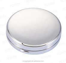 New compact case pressed powder container with mirror