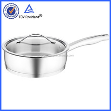 induction fry pan with folding handle with lid for kitchenware