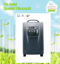 Promotional 5L Oxygen Concentrator/ Medical Oxygen Concentrator/Portable Oxygen Concentrator with 36dB(A) and Nebulizer