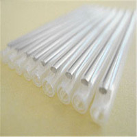 60*1.2mm clear plastic fiber optic heat shrink tube,clear plastic protective sleeve for pipes