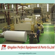 Heat synthetic sanitary pad usage paper making machine