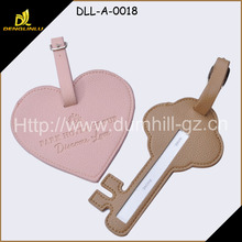 airport luggage PU leather tags