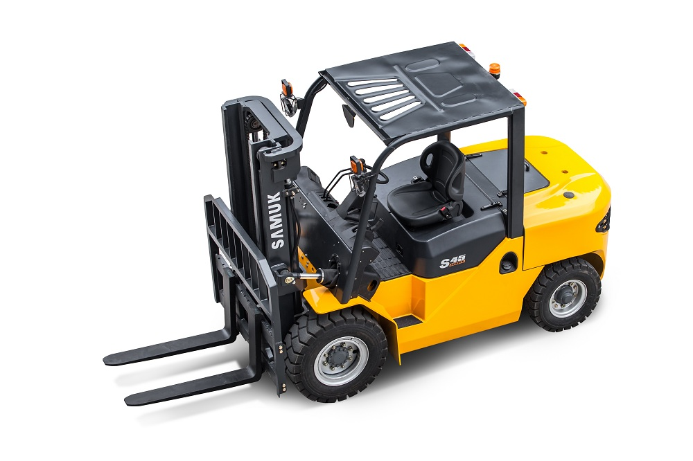 5ton forklift cpcd50 with Mitsubishi engine