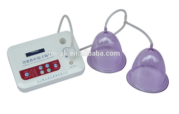 Hot sale Vibrating machine with cupping cup for big breast massager