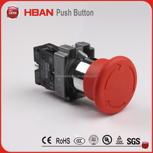 BX4 red 22mm emergency stop button on off switch push button
