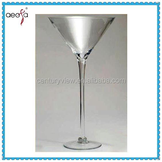 Giant Martini Glass Centerpiece Wholesale : Long stemmed wholesale martini glass vases wedding