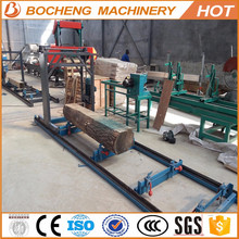 Chinese Portable Petrol / Electric Chain Sawmill Chainsaw Mills