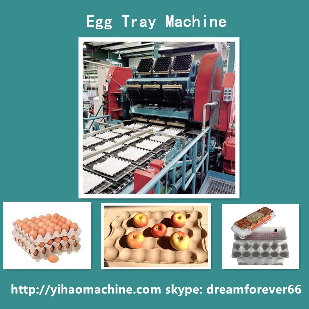 shandong egg box machine yihao longkou paper recycled hard boiled egg peeling machine