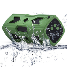 PSTTL 390L Bluetooth V4.0 Waterproof Shockproof NFC Wireless Speaker Power Bank Outdoor