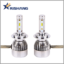 2018 China car light manufacturer wholesale high power led headlight bulb h7 led lamp 6000K 24v 12v 55w car led bulb with canbus