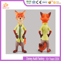 Hot toys fashion modeling child plastic zootopia action figure toys