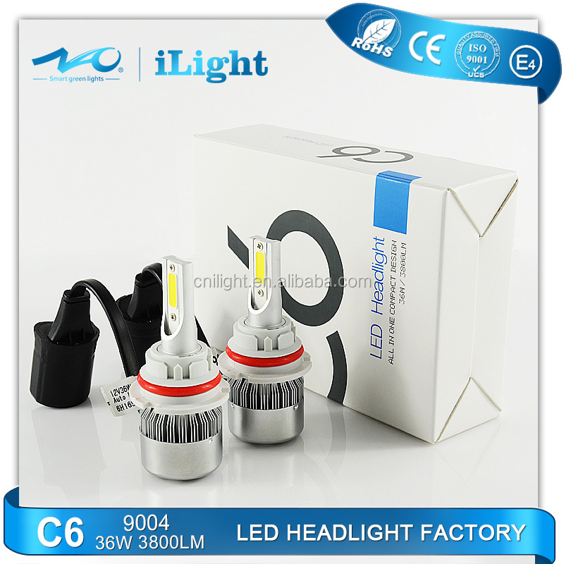 2016 LED automobiles & motorcycles Lights 9004,9007 car 12v led headlight auto Head lamp headlights
