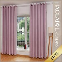 High quality decorative modern 100% polyester luxury blackout drapes curtains