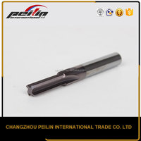 CNC Cutting Tool Tungsten Carbide Mechanical Reamer With Straight Shank