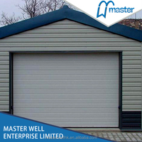 steel grill garage door design