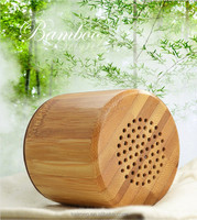 top selling 2016 new gadgets bamboo portable wooden outdoor speaker bluetooth with usb