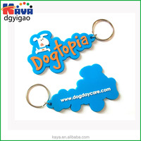 Directly factory wholesale 3D plastic keychain for promotional gifts