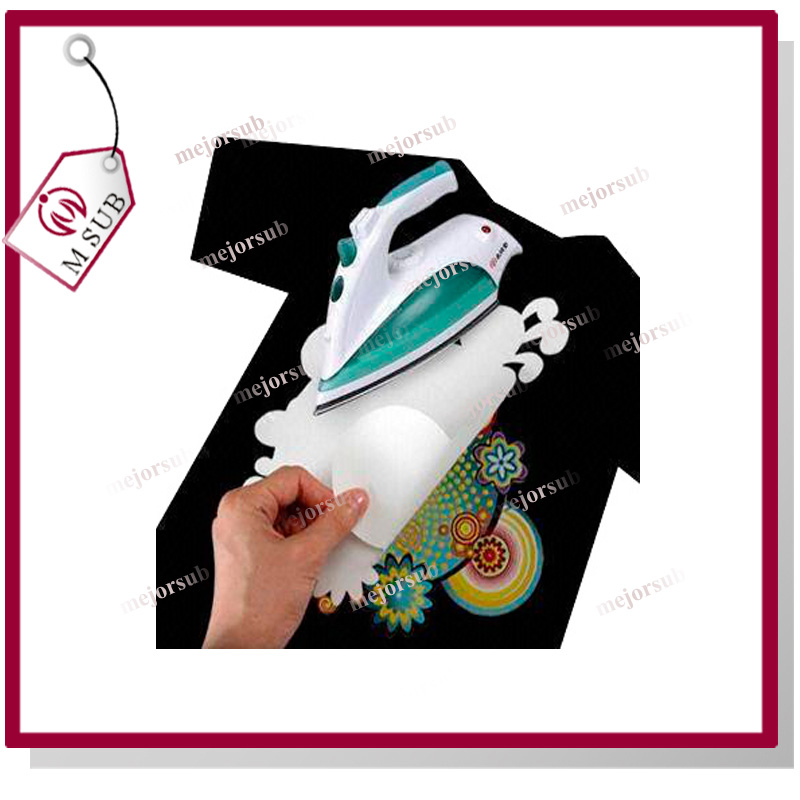 Superior Quality!! A4/A3/custom forever laser dark no cut transfer paper for cotton t-shirt