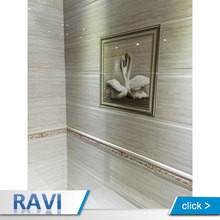 Malaysia Fancy Ceramic Tile Embossed Decor Tiles Front Wall for Bathroom Design