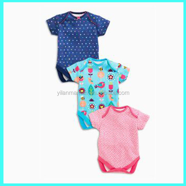 Organic cotton infant clothes online summer baby clothes newborn
