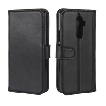 Good Quality Genuine Leather Card Holder Wallet Flip Leather Case For Lenovo K8 Note