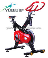 YB-X5 Black-Red Magnetic Gym Spinning Bicycle