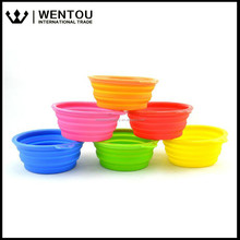 Portable Collapsible Silicone Cat Dog Bowl Water Pet Dish Feeder