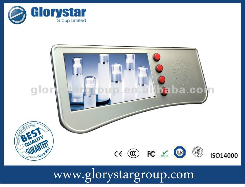"7"" Instore Motion Activated Video Player"