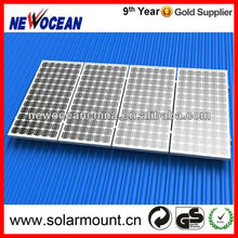 rooftop portable aluminum solar panel mount