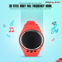 Music Sound Watch Bluetooth 4.0 Speaker with Pedometer Sleep monitor remote camera functions MP3 music bluetooth player