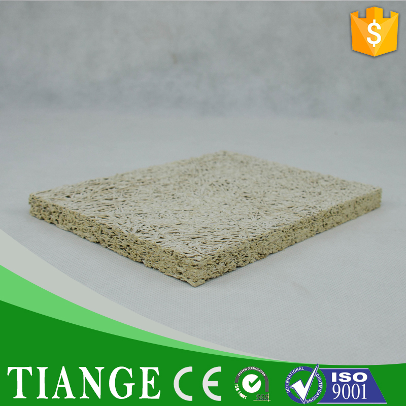 Wood wool cement decorative acoustic panel