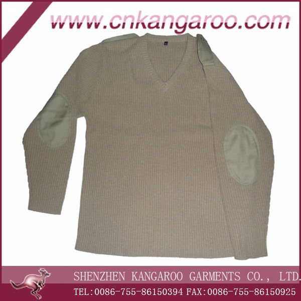 12GG heavy weight pullover sweater