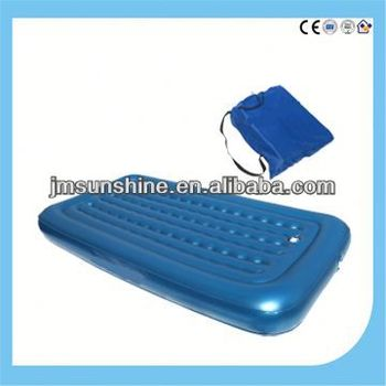 outdoor pvc inflatable bed /1 person water bed / air bed