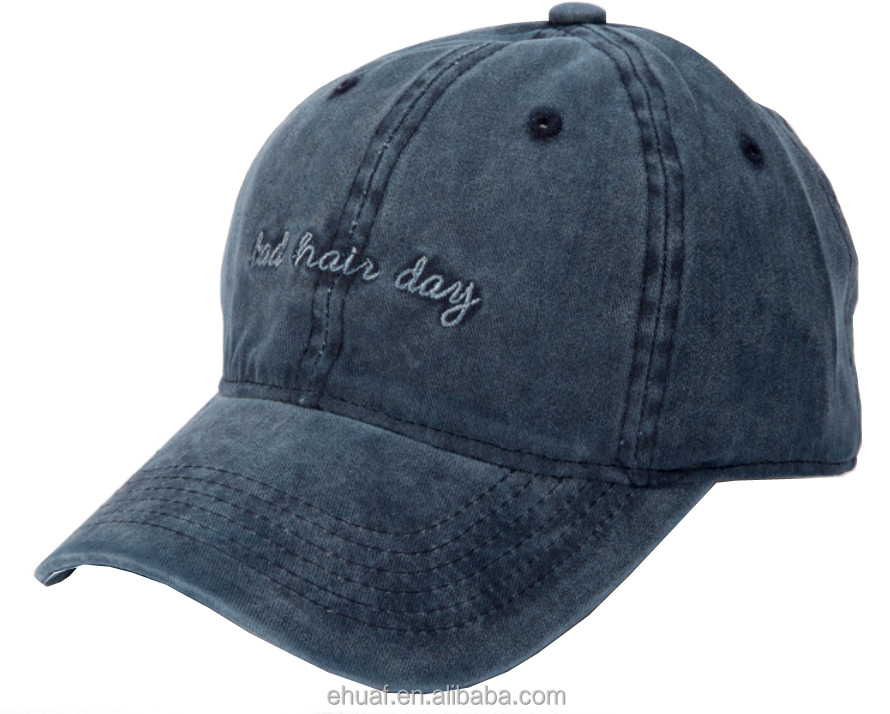 6 panel wholesale embroidery cotton fashion washed baseball cap dad <strong>hat</strong>