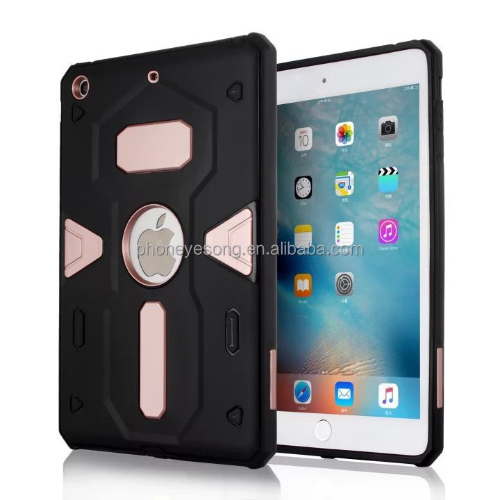 Tablet Case For apple iPad mini1 2 3case Heavy Duty Defender Rugged TPU+PC Armor Shockproof Protective Cover