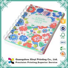 Wholesale cheap colorful b4 b5 size student spiral note book
