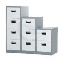 Steel furniture fire proof filing cabinet with drawers