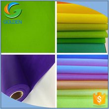 Biodegradable waterproof polypropylene raw material price fabric/non-woven spun bond fabric pp