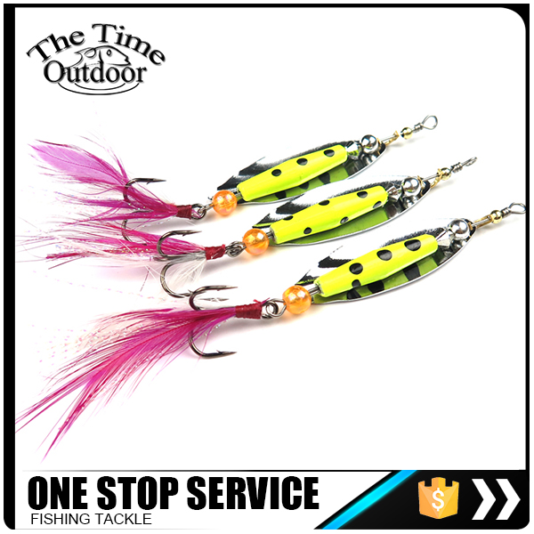 High Quality Metal Fishing Spinner Baits Blade With Free Shipping